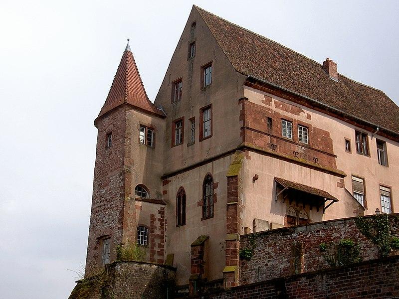 Photo du Monument Historique Petit Château situé à Saverne