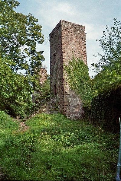 Photo du Monument Historique Ruines du château Greifenstein situé à Saverne