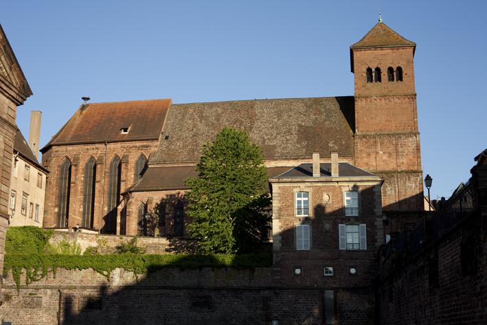 Photo du Monument Historique Eglise paroissiale Notre-Dame-de-la-Nativité situé à Saverne