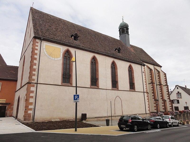 Photo du Monument Historique Ancien couvent des Récollets et église Saint-Antoine-de-Padoue situé à Saverne