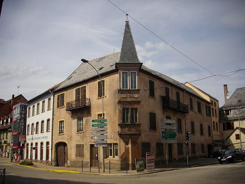 Photo du Monument Historique Hôtel de la Charrue situé à Saverne