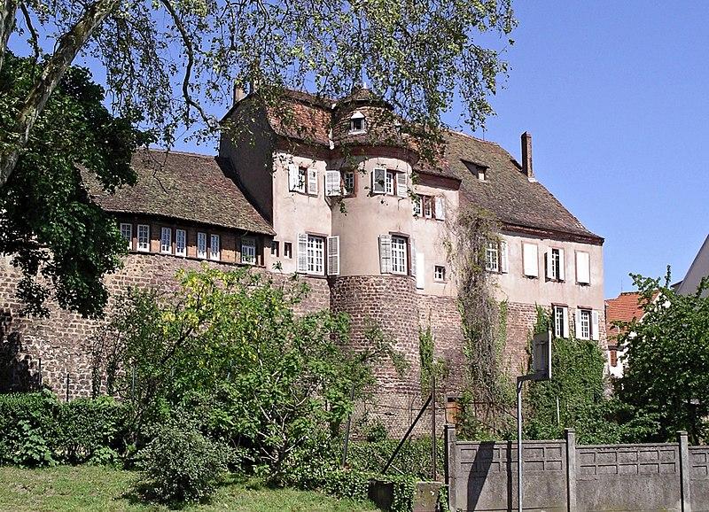 Photo du Monument Historique Ancien Hôtel de Wangen situé à Saverne