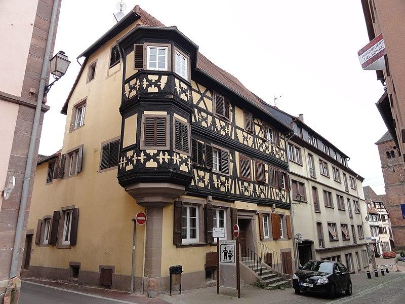 Photo du Monument Historique Maison situé à Saverne