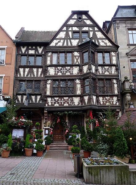 Photo du Monument Historique Maison Katz situé à Saverne