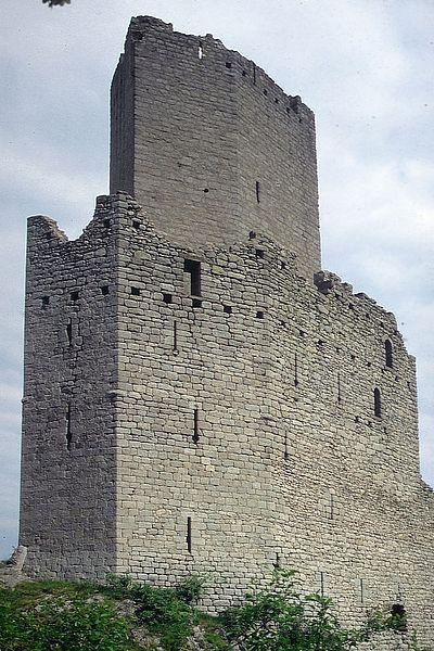Photo du Monument Historique Ruines des châteaux de Ortenbourg et de Ramstein situé à Scherwiller