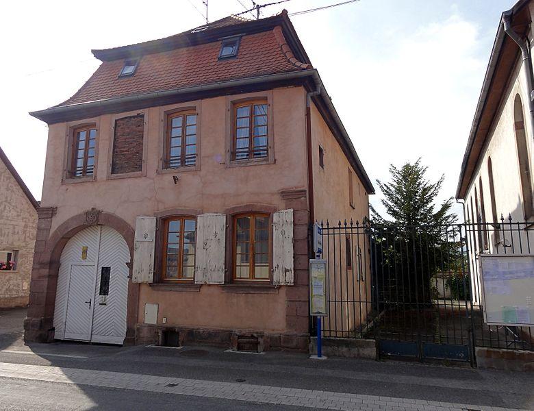 Photo du Monument Historique Immeuble, dit Maison du Rabbin situé à Scherwiller