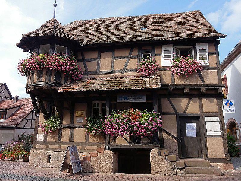 Photo du Monument Historique Maison appelée Corps de garde situé à Scherwiller