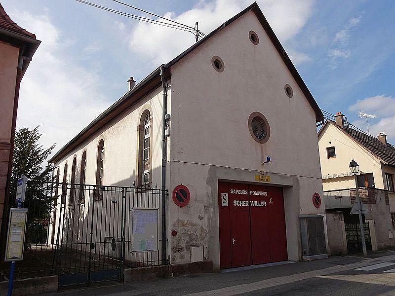 Photo du Monument Historique Ancienne synagogue situé à Scherwiller