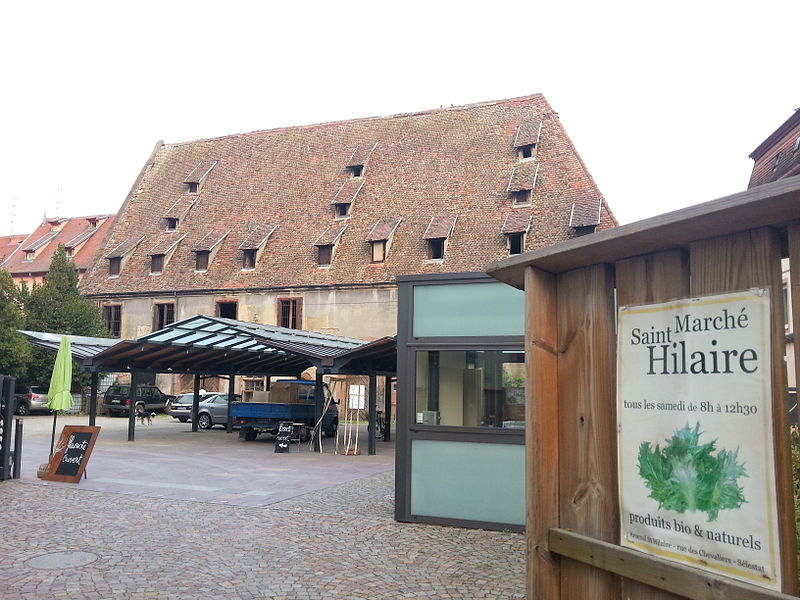 Photo du Monument Historique Ancien arsenal Saint-Hilaire situé à Sélestat