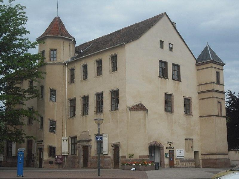 Photo du Monument Historique Ancienne commanderie de Saint-Jean situé à Sélestat
