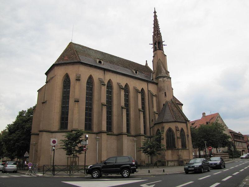Photo du Monument Historique Ancienne église des Franciscains, ou église protestante situé à Sélestat