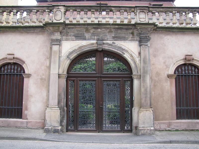 Photo du Monument Historique Hôtel de Chanlas situé à Sélestat