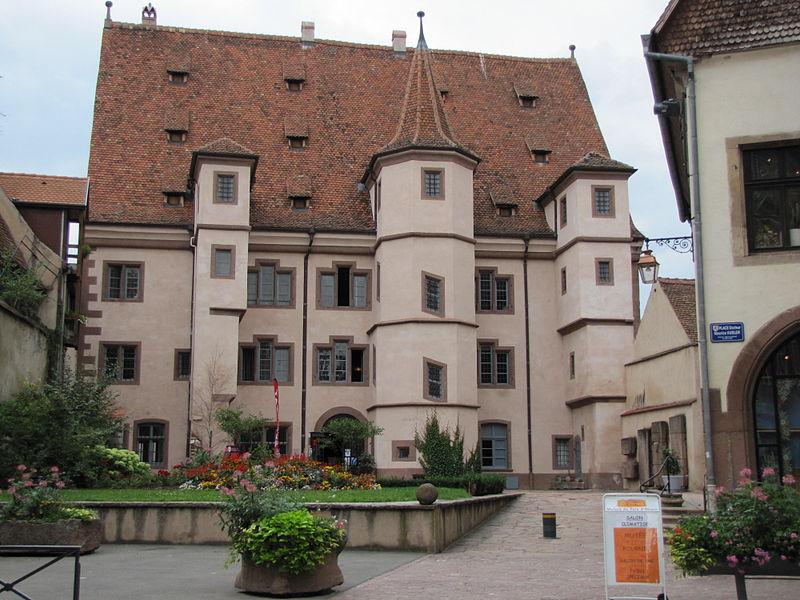 Photo du Monument Historique Ancien Hôtel d'Ebersmunster situé à Sélestat
