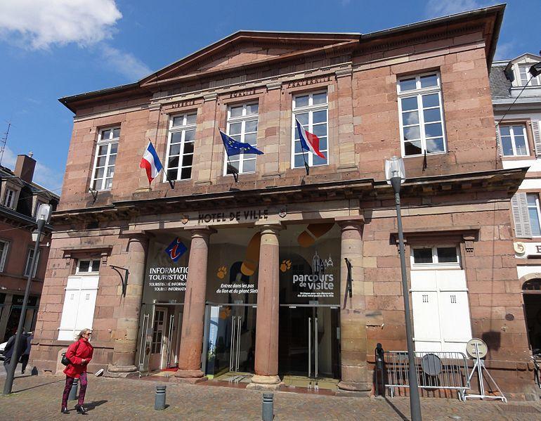 Photo du Monument Historique Hôtel de ville situé à Sélestat