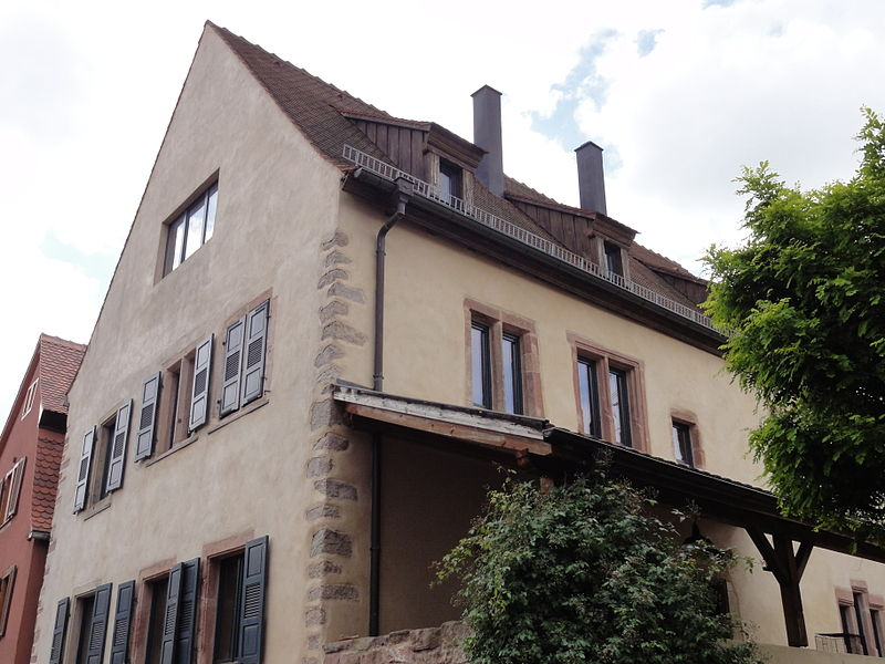 Photo du Monument Historique Maison natale présumée de Beatus Rhenatus situé à Sélestat