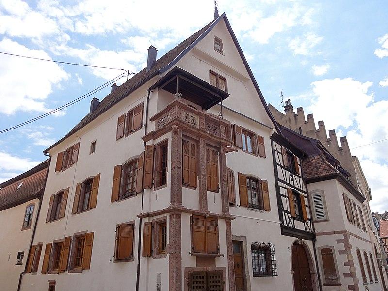 Photo du Monument Historique Maison Ziegler situé à Sélestat