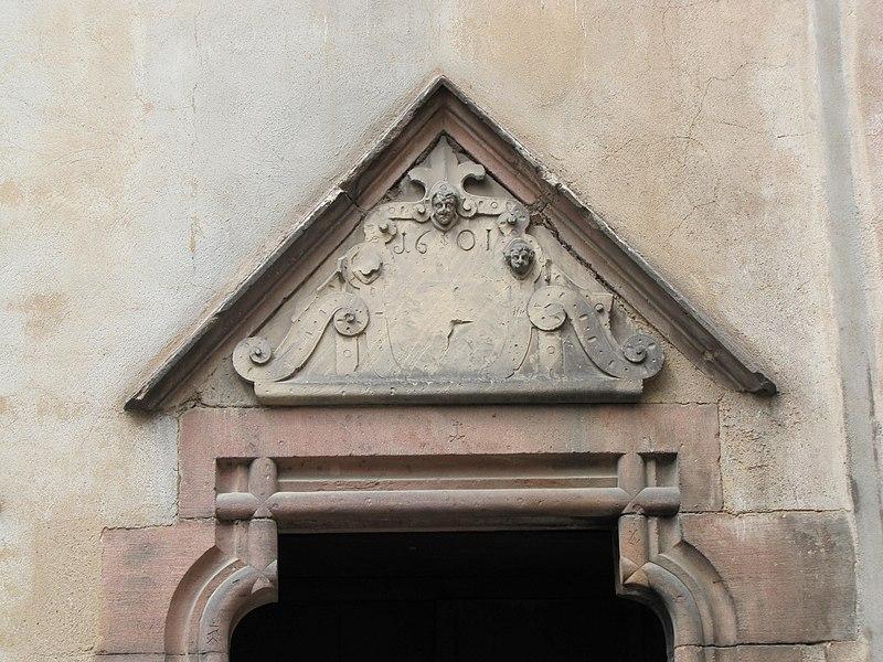 Photo du Monument Historique Ancien grenier du Prieuré des Bénédictins situé à Sélestat