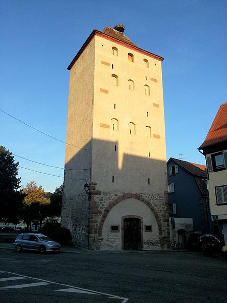 Photo du Monument Historique Tour des Sorcières situé à Sélestat