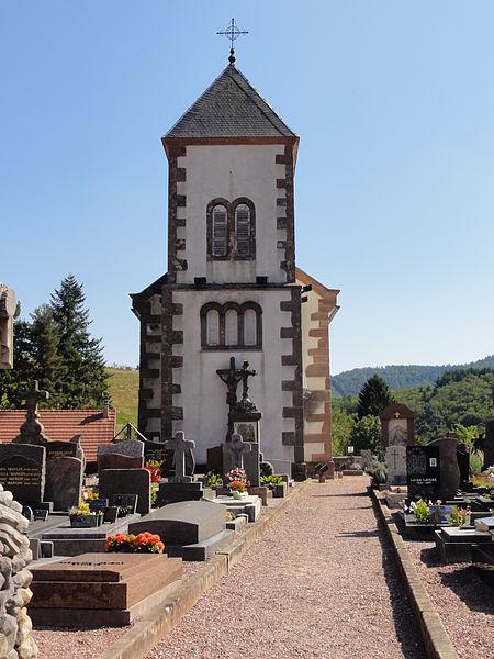 Photo du Monument Historique Ancienne église paroissiale, ou chapelle du cimetière situé à Steige