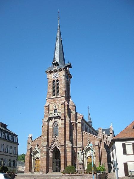 Photo du Monument Historique Eglise catholique situé à Still