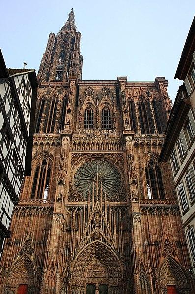 Photo du Monument Historique Cathédrale Notre-Dame situé à Strasbourg