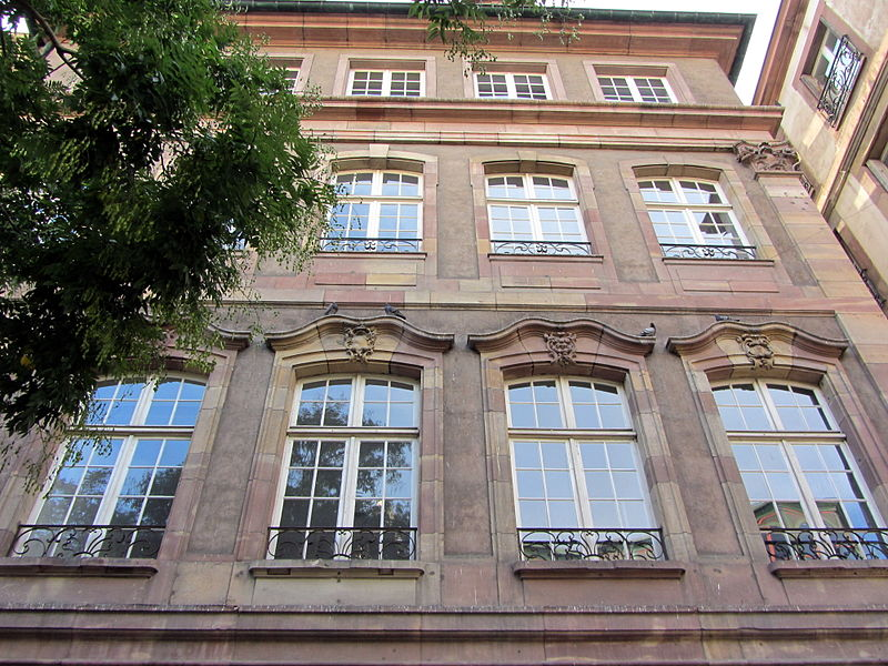 Photo du Monument Historique Ancienne Chambre de la taille et des subhastations situé à Strasbourg