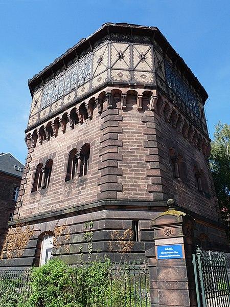 Photo du Monument Historique Château d'eau situé à Strasbourg