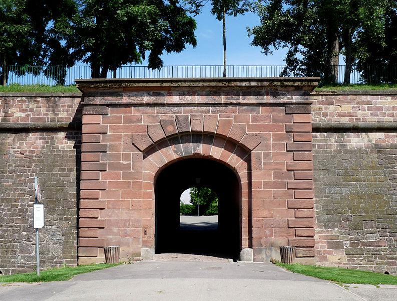 Photo du Monument Historique Citadelle et abords situé à Strasbourg