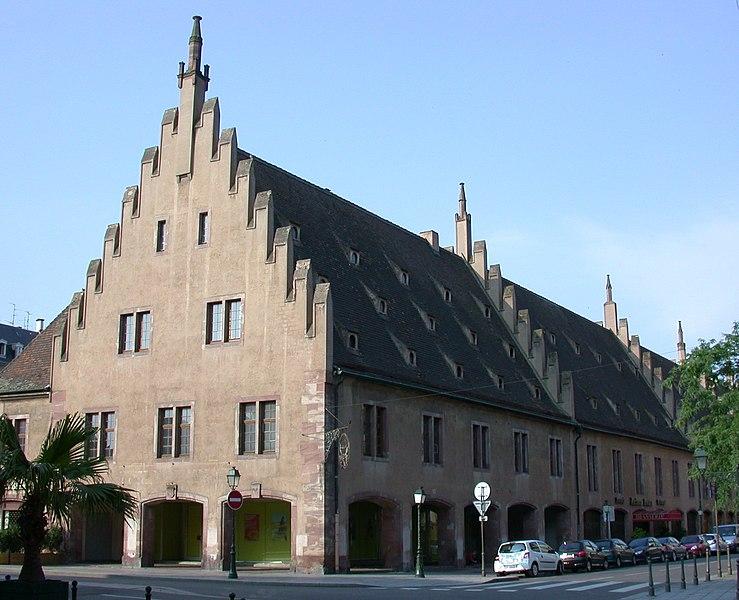 Photo du Monument Historique Ancienne douane situé à Strasbourg