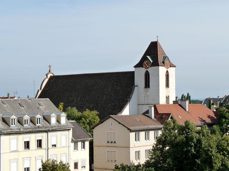 Photo du Monument Historique Eglise protestante Sainte-Aurélie situé à Strasbourg