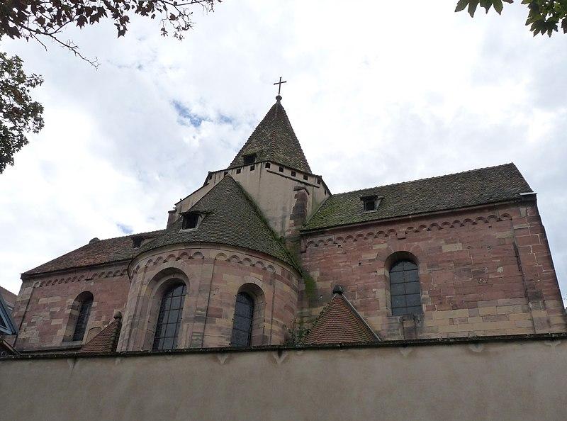 Photo du Monument Historique Eglise Saint-Etienne situé à Strasbourg