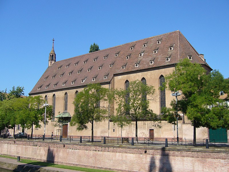 Photo du Monument Historique Eglise catholique Saint-Jean-Baptiste situé à Strasbourg