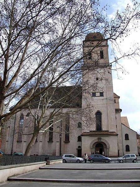 Photo du Monument Historique Eglise Sainte-Madeleine situé à Strasbourg