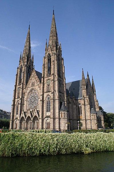 Photo du Monument Historique Eglise réformée Saint-Paul situé à Strasbourg