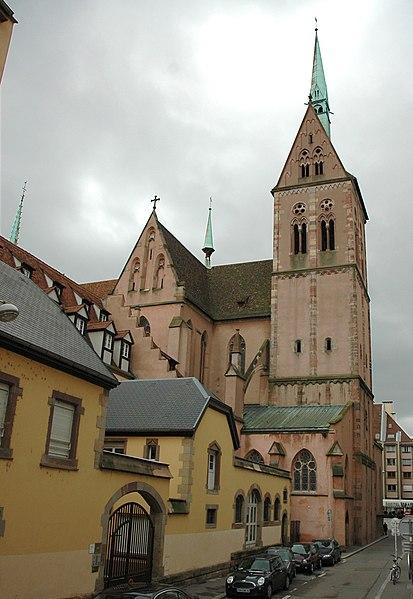 Photo du Monument Historique Eglise protestante Saint-Pierre-le-Jeune situé à Strasbourg