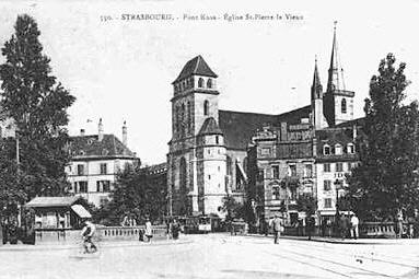 Photo du Monument Historique Eglise protestante Saint-Pierre-le-Vieux situé à Strasbourg