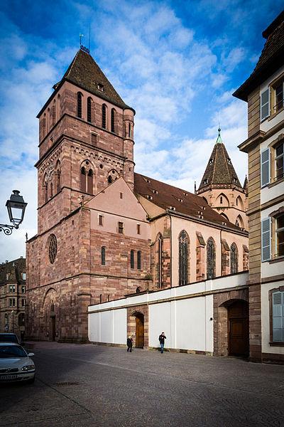 Photo du Monument Historique Eglise Saint-Thomas situé à Strasbourg