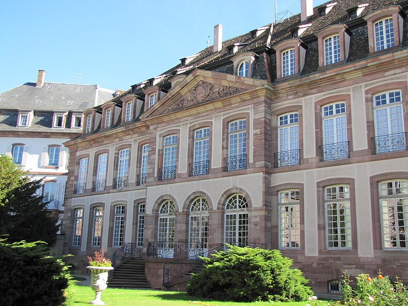 Photo du Monument Historique Palais épiscopal situé à Strasbourg