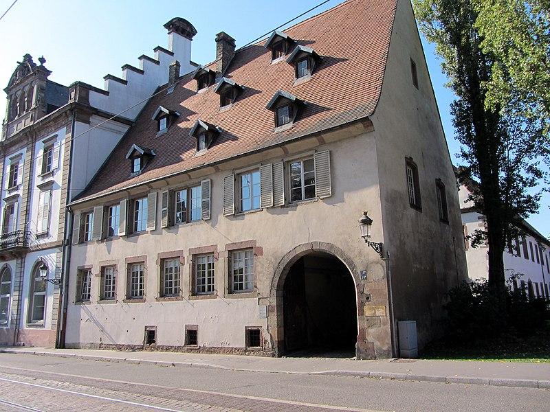 Photo du Monument Historique Ancienne fonderie de canons situé à Strasbourg