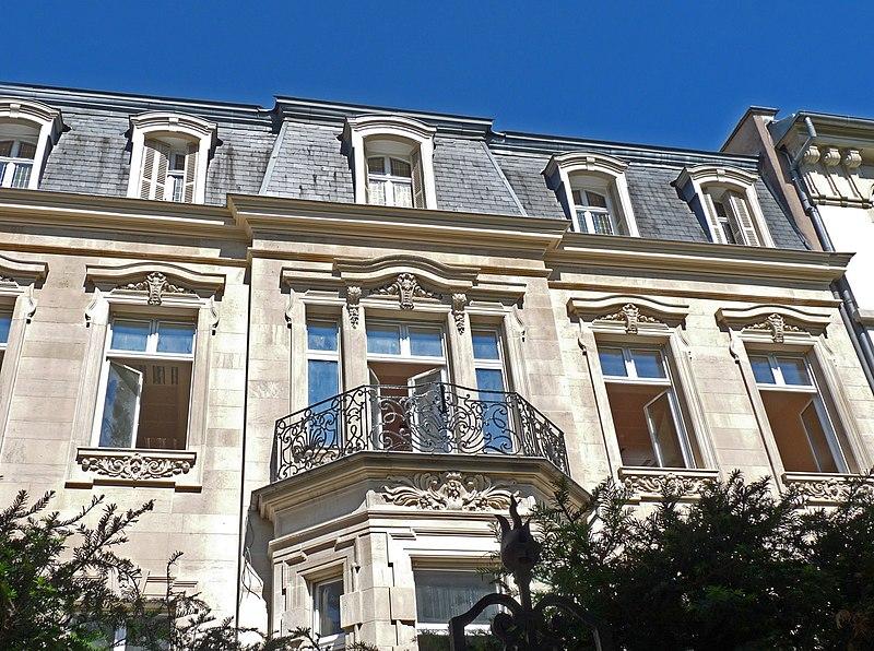 Photo du Monument Historique Hôtel situé à Strasbourg
