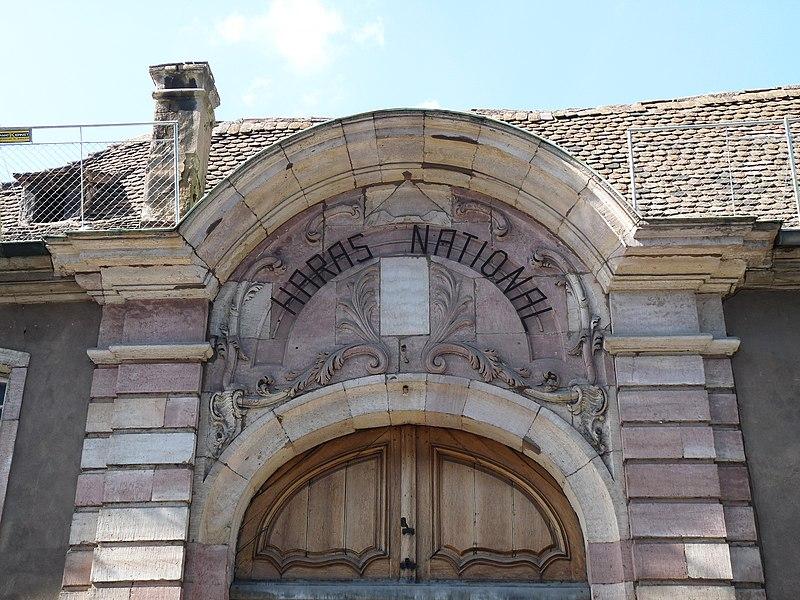 Photo du Monument Historique Haras national situé à Strasbourg