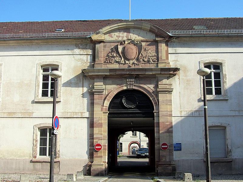 Photo du Monument Historique Ancien hôpital militaire Gaujot situé à Strasbourg