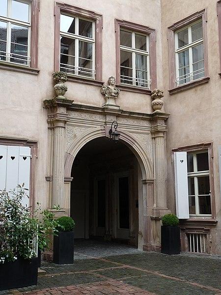 Photo du Monument Historique Ancien Hôtel Brackenhoffer situé à Strasbourg