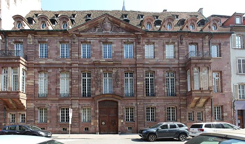 Photo du Monument Historique Ancien hôtel d'Andlau-Klinglin situé à Strasbourg
