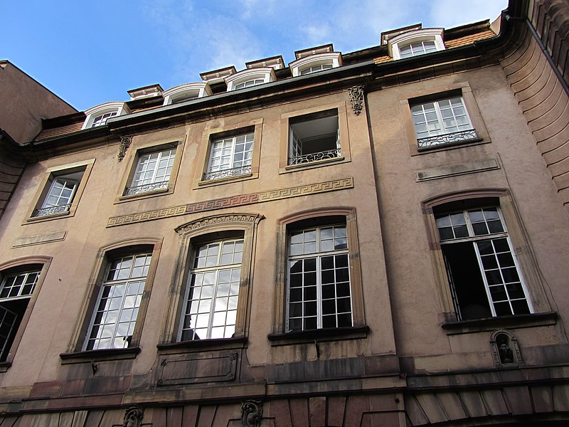 Photo du Monument Historique Hôtel de Dartein situé à Strasbourg