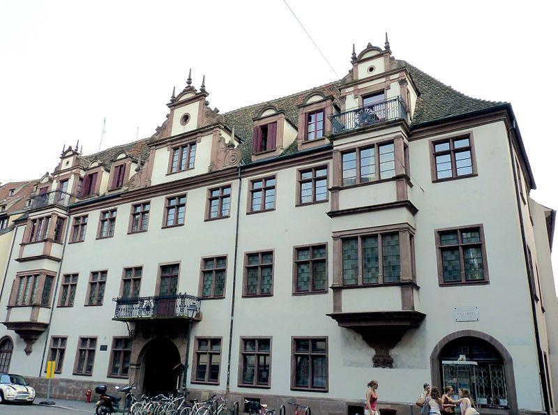 Photo du Monument Historique Ancien hôtel des Boecklin de Boecklinsau, puis du Directoire de la noblesse de Basse-Alsace situé à Strasbourg