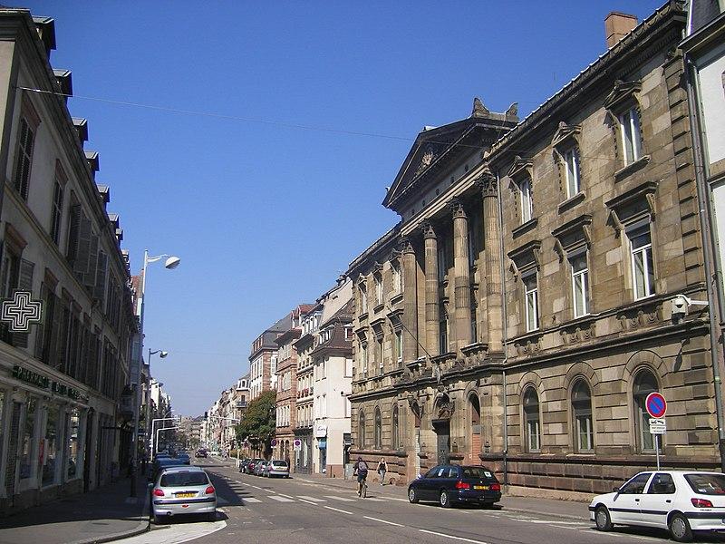 Photo du Monument Historique Ancien Hôtel du Commandant en chef d'Alsace (ancien Hôtel du Bourg), ancien Palais de Justice, puis Hôtel de Police ou ancien hôtel du Gouverneur militaire ou du Maréchal de Bourg situé à Strasbourg