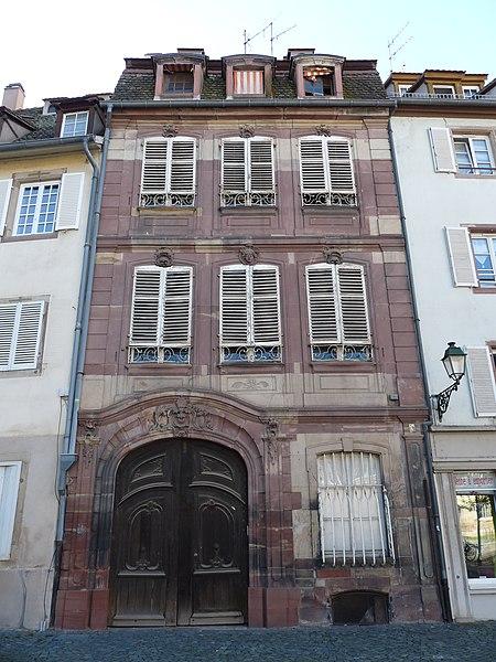 Photo du Monument Historique Ancien Hôtel d'Ettenheimmunster situé à Strasbourg