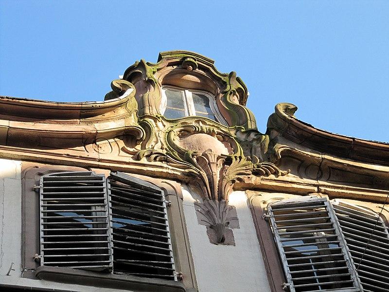 Photo du Monument Historique Ancien Hôtel de Gayling d'Altheim situé à Strasbourg