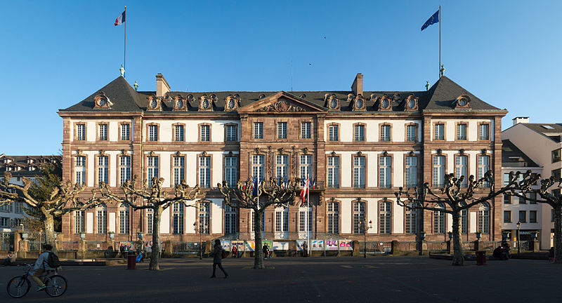 Photo du Monument Historique Hôtel de ville, ancien Hôtel de Hanau situé à Strasbourg